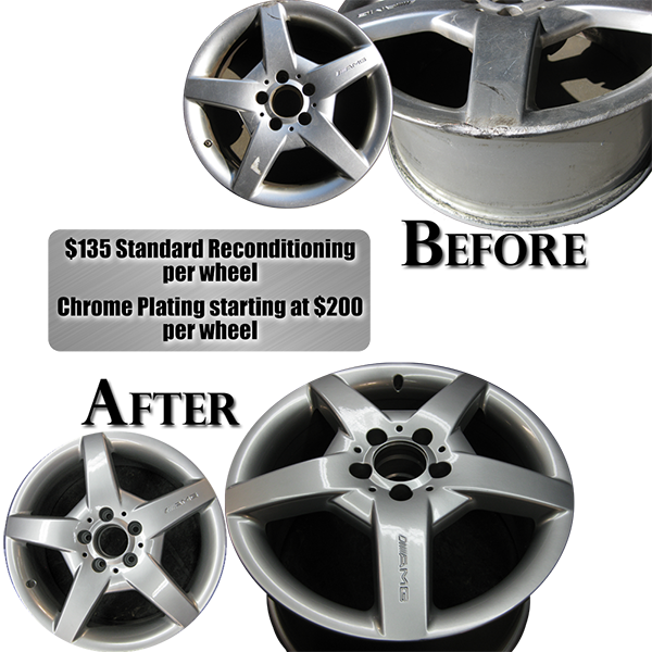 Recondition your wheels to like-new