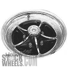Picture of Buick CENTURY (1974-1977) 15x7 Steel Chrome 4 Vent [01025]