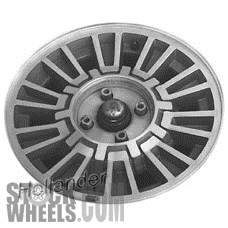 Picture of Mercury COUGAR (1980-1982) 390x150mm Aluminum Alloy Machined 10 Spoke [01158]