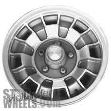 Picture of Chrysler ASPEN (1979-1980) 14x6 Aluminum Alloy Machined and Gold 8 Vent [01178]