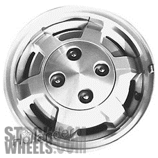Picture of Mercury LN7 (1983) 13x5.5 Aluminum Alloy Machined with Silver 6 Spoke [01237]