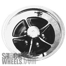 Picture of Buick ELECTRA (1980-1987) 15x7 Steel Chrome 5 Spoke [01251]