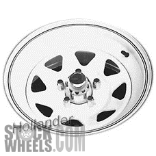 Picture of Jeep CJ-SERIES (1981-1986) 15x7 Steel Chrome 8 Spoke [01270]
