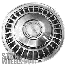 Picture of Lincoln CONTINENTAL (1982-1987) 15x5.5 Aluminum Alloy Silver 30 Spoke [01294]