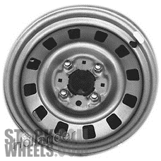 Picture of Mercury COUGAR (1983-1988) 14x5.5 Steel Silver 12 Hole [01419]
