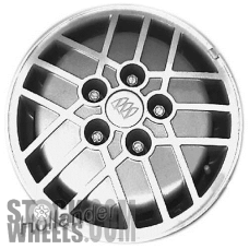 Picture of Buick LESABRE (1987-1991) 15x6 Aluminum Alloy Machined with Silver 15 Spoke [01541]