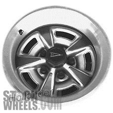 Picture of Pontiac GRAND PRIX (1984-1987) 15x7 Aluminum Alloy Silver 5 Spoke [01545]