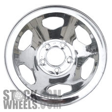 Picture of Chevrolet 1500 PICKUP (1989-1999) 15x7 Steel Chrome 6 Spoke [01670A]