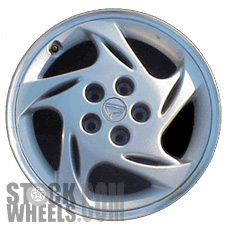 Picture of Eagle TALON (1997-1998) 17x6.5 Aluminum Alloy Silver with Machined Edge 5 Spoke [02085]