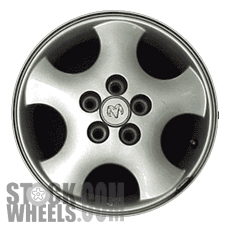 Picture of Plymouth NEON (1998-1999) 14x6 Aluminum Alloy Chrome 5 Spoke [02101]