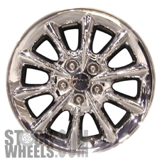 Picture of Chrysler 300M (2003-2004) 17x7 Aluminum Alloy Chrome Clad 10 Spoke [02171]