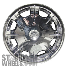Picture of Chrysler 300 (2005-2006) 17x7 Aluminum Alloy Chrome Clad 8 Spoke [02243]