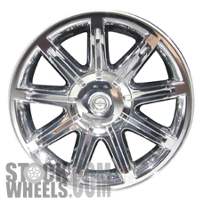 Picture of Chrysler 300 (2005-2006) 18x7.5 Aluminum Alloy Chrome Clad 9 Spoke [02244]