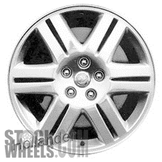 Picture of Chrysler 300 (2005-2006) 18x7.5 Aluminum Alloy Chrome Clad 6 Double Spoke [02245]