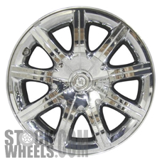Picture of Chrysler 300 (2007-2010) 18x7.5 Aluminum Alloy Chrome Clad 9 Spoke [02279]