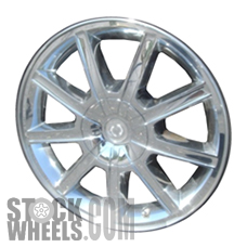 Picture of Chrysler 300 (2007-2010) 18x7.5 Aluminum Alloy Chrome Clad 9 Spoke [02280]