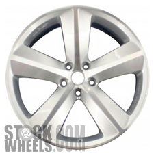 Picture of Dodge CHARGER (2008-2010) 20x9 Aluminum Alloy Chrome 5 Spoke [02329]