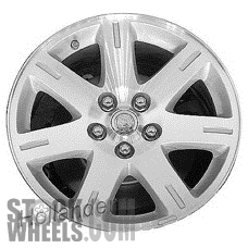 Picture of Chrysler 300 (2005-2008) 17x7 Aluminum Alloy Chrome Clad 7 Spoke [02361A]