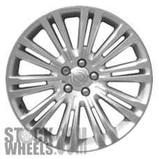 Picture of Chrysler 300 (2011-2014) 20x8 Aluminum Alloy Polished and Silver 10 Double Spoke [02420A]
