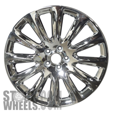 Picture of Chrysler 300 (2009-2014) 20x8 Aluminum Alloy Chrome 12 Spoke [02439]