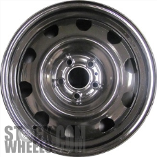 Picture of Chrysler 200 (2015-2016) 17x7 Steel Black 10 Hole [02510]