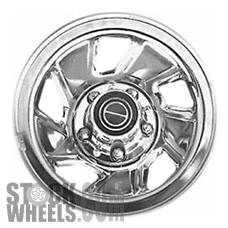 Picture of Ford BRONCO (1992-1996) 15x7.5 Steel Chrome 5 Spoke [03026A]