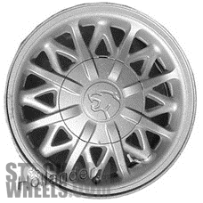 Picture of Mercury COUGAR (1993-1996) 15x6.5 Aluminum Alloy Chrome 24 Spoke [03046]