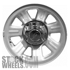 Picture of Mazda B-2500 (2001) 15x7 Steel Chrome Clad 7 Spoke [03404B]