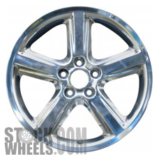 Picture of Mercury MARAUDER (2003-2004) 18x8 Aluminum Alloy Chrome 5 Spoke [03493]