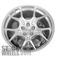 Picture of Ford GT (2005-2006) 19x11 Aluminum Alloy Hyper Silver 5 Split Spoke [03567]
