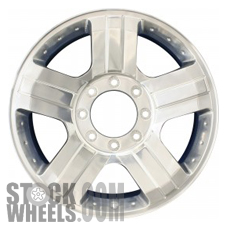 Picture of Ford F250SD PICKUP (2005-2007) 20x8 Aluminum Alloy Chrome 5 Spoke [03605]