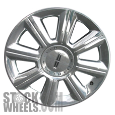 Picture of Lincoln MKX (2007-2009) 18x7.5 Aluminum Alloy Chrome Clad 8 Spoke [03675]