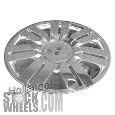 Picture of Lincoln MKX (2008-2009) 20x7.5 Aluminum Alloy Chrome Clad 7 Double Spoke [03702]