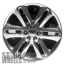 Picture of Ford F150 PICKUP (2013-2014) 22x9 Aluminum Alloy Chrome 6 Spoke [03918]