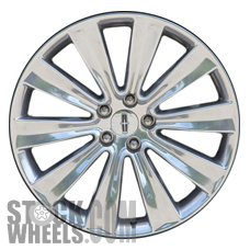 Picture of Lincoln MKS (2013-2016) 20x8 Aluminum Alloy Chrome 10 Spoke [03930]