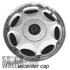 Picture of Buick REATTA (1990-1991) 16x7 Aluminum Alloy Silver with Machined Edge 7 Spoke [04004]