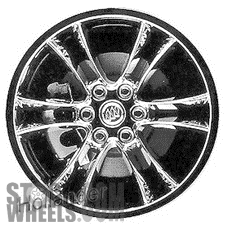 Picture of Saturn OUTLOOK (2007-2010) 20x7.5 Aluminum Alloy Chrome 6 Double Spoke [04087]