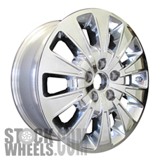 Picture of Buick LUCERNE (2008-2011) 17x7 Aluminum Alloy Chrome Clad 10 Spoke [04092]