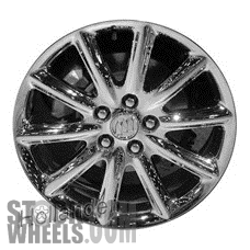 Picture of Buick LUCERNE (2006-2011) 18x7.5 Aluminum Alloy Chrome 10 Spoke [04104]