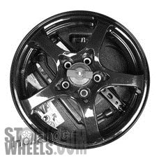 Picture of Cadillac CT6 (2016-2017) 18x4 Steel Black 5 Spoke [04625]