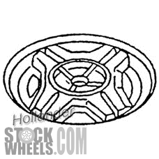 Picture of Chevrolet CAVALIER (1993-1994) 14x6 Aluminum Alloy Silver 4 Double Spoke [05017]