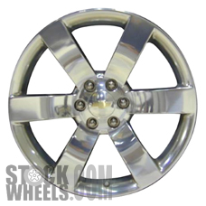 Picture of Saab 9-7X (2006-2009) 20x8 Aluminum Alloy Hyper Silver 6 Spoke [05254]