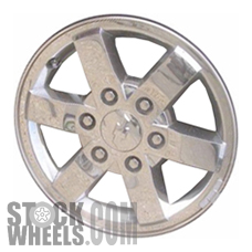 Picture of Chevrolet COLORADO (2008-2010) 16x6.5 Aluminum Alloy Chrome Clad 6 Spoke [05364]