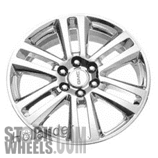 Picture of Saturn OUTLOOK (2007-2010) 20x7.5 Aluminum Alloy Chrome 6 Double Spoke [05367]