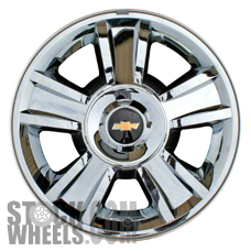 Picture of Chevrolet AVALANCHE 1500 (2009-2013) 20x8.5 Aluminum Alloy Chrome Clad 5 Spoke [05416]