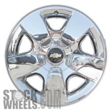 Picture of Chevrolet AVALANCHE 1500 (2009-2011) 20x8.5 Aluminum Alloy Chrome Clad 5 Spoke [05417]