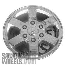 Picture of Chevrolet COLORADO (2009-2012) 16x6.5 Aluminum Alloy Chrome Clad 6 Spoke [05424]