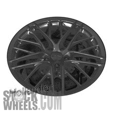 Picture of Chevrolet CORVETTE (2011-2013) 20x12 Aluminum Alloy Chrome 10 Double Spoke [05492]