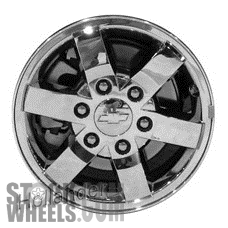 Picture of Chevrolet COLORADO (2011-2012) 16x6.5 Aluminum Alloy Chrome 6 Spoke [05504]