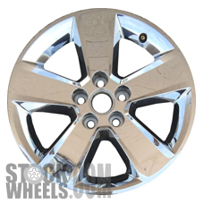 Picture of Chevrolet EQUINOX (2012-2015) 18x7 Aluminum Alloy Chrome Clad 5 Spoke [05521]